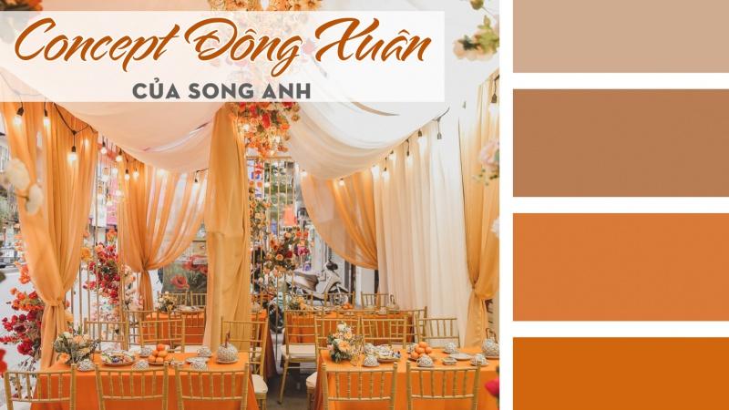 Khám phá xu hướng Concept tiệc cưới Đông - Xuân với Song Anh Wedding