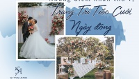 Những điểm nhấn thú vị khi trang trí tiệc cưới ngày đông