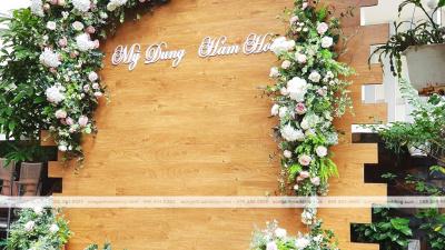 5 mẫu trang trí backdrop cho mùa cưới 2019