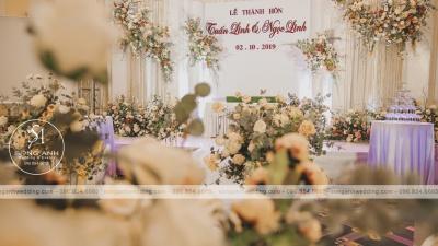 Những sai lầm mà cô dâu mắc phải khi lựa chọn màu sắc trang trí tiệc cưới
