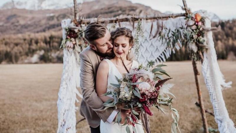 Bohemian - phong cách trang trí tiệc cưới mang cảm hứng bất tận