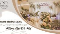 Song Anh Wedding & Events - Dịch vụ trang trí cưới hỏi trọn gói tại Hà Nội