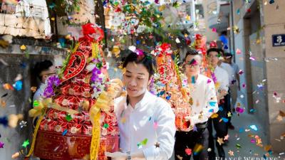 Cách chuẩn bị mâm lễ hỏi theo truyền thống người Việt